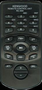 KENWOOD RC-600 [AUTO] пульт ДУ для автомагнитол автомобильных TV/DVD систем - магазин Remote - Фото 1