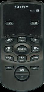 SONY RM-X114 [AUTO] пульт ДУ для автомагнитол автомобильных TV/DVD систем - магазин Remote - Фото 1