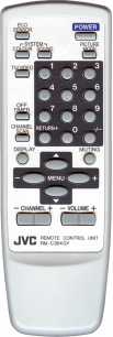 JVC RM-C364 серый [TV] пульт ДУ  для телевизора - магазин Remote - Фото 1