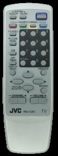 JVC RM-C1261 [TV] оригинальный пульт ДУ  для телевизора - магазин Remote - Фото 1
