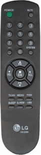 LG 105-230M [TV] пульт ДУ  для телевизора - магазин Remote - Фото 1