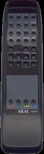 AKAI RC-61F [TV] пульт ДУ  для телевизора - магазин Remote - Фото 1