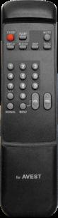 AVEST/ARVIN RC-297 [TV] пульт ДУ  для телевизора - магазин Remote - Фото 1