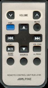 ALPINE AUTO/MP3 RUE-4185 [AUTO] пульт ДУ для автомагнитол автомобильных TV/DVD систем - магазин Remote - Фото 1