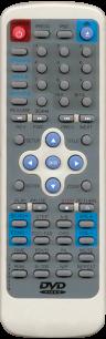 ATLANTA JX8602B (ATX5500) [DVD] пульт ДУ для DVD, Blu-ray, DVD систем и домашних кинотеатров - магазин Remote - Фото 1