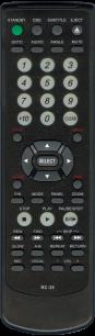 BBK RC-35 [DVD] пульт ДУ для DVD  и домашних кинотеатров - магазин Remote - Фото 1