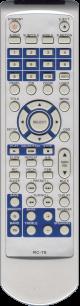 BBK RC-78 [DVD] пульт ДУ для DVD  и домашних кинотеатров - магазин Remote - Фото 1