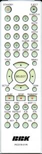 BBK RC019-01R [DVD] пульт ДУ для DVD  и домашних кинотеатров - магазин Remote - Фото 1