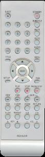 BBK RC019-01R [DVD] пульт ДУ в неоригинальном корпусе для DVD  и домашних кинотеатров - магазин Remote - Фото 1