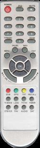 KONKA  /  TRIMAX T2 TR-2015HD [DVB-T2] пульт ДУ Т2 тюнера - магазин Remote - Фото 1