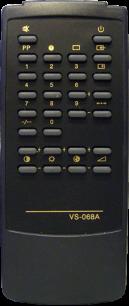 Gold Star VS-068A [TV] пульт ДУ  для телевизора - магазин Remote - Фото 1