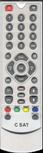 COSMOSAT RC-7405 [SAT] пульт ДУ для спутниковых и кабельных тюнеров - магазин Remote - Фото 1