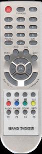 EVO 700S / TECHNOSAT T-8002 [SAT] пульт ДУ для спутниковых и кабельных тюнеров - магазин Remote - Фото 1