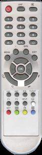 GLOBO 7010 / DIGITAL 7010 [SAT] пульт ДУ для спутниковых и кабельных тюнеров - магазин Remote - Фото 1