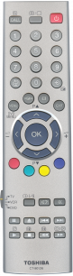 TOSHIBA CT-90126 [PLASMA, LCD TV] пульт ДУ  для телевизора - магазин Remote - Фото 1