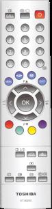 TOSHIBA CT-90253 [TV] пульт ДУ  для телевизора - магазин Remote - Фото 1
