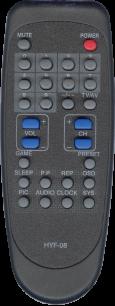 AVEST/ARVIN HYF-08 [TV] пульт ДУ  для телевизора - магазин Remote - Фото 1