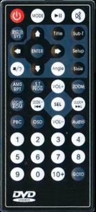 DVD8 PIONEER 993/KENWOOD/HYUNDAI [AUTO] пульт ДУ для автомагнитол автомобильных TV/DVD систем - магазин Remote - Фото 1