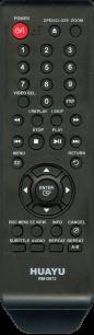 HUAYU SAMSUNG RM-D673 DVD универсальный [UNIVERSAL for DVD] оригинальный пульт ДУ универсальные - магазин Remote - Фото 1