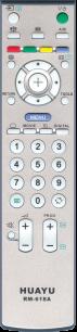 HUAYU SONY RM-618A LCD TV универсальный [UNIVERSAL] оригинальный пульт ДУ универсальные - магазин Remote - Фото 1