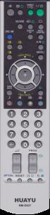 HUAYU SONY RM-D637 LCD TV универсальный [UNIVERSAL] оригинальный пульт ДУ универсальные - магазин Remote - Фото 1