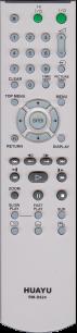 HUAYU SONY RM-D624/RM-D641 DVD TV универсальный [UNIVERSALfor DVD ] оригинальный пульт ДУ универсальные - магазин Remote - Фото 1