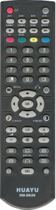 HUAYU HITACHI RM-D626 LCD TV универсальный [UNIVERSAL] оригинальный пульт ДУ универсальные - магазин Remote - Фото 1