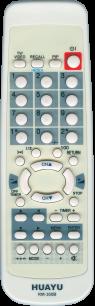 HUAYU HITACHI RM-300B TV универсальный [UNIVERSAL] оригинальный пульт ДУ универсальные - магазин Remote - Фото 1