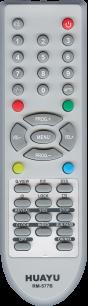 HUAYU AKIRA RM-577B LCD TV универсальный [UNIVERSAL] оригинальный пульт ДУ универсальные - магазин Remote - Фото 1
