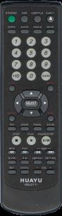 HUAYU BBK RM-D711 универсальный [UNIVERSAL for DVD] оригинальный пульт ДУ универсальные - магазин Remote - Фото 1