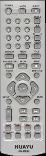 HUAYU ELENBERG RM-D699 универсальный [UNIVERSAL for DVD] оригинальный пульт ДУ универсальные - магазин Remote - Фото 1
