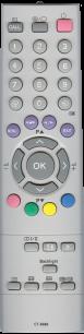 TOSHIBA CT-8006 [PLASMA, LCD TV] пульт ДУ  для телевизора - магазин Remote - Фото 1