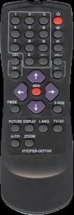AKIRA HYDFDSR-0077AK [TV] пульт ДУ  для телевизора - магазин Remote - Фото 1