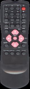 AKIRA HYDFSR-1251AK (4250) [TV] пульт ДУ  для телевизора - магазин Remote - Фото 1