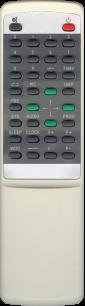 AKIRA RY2002 (сер.корп) [TV] пульт ДУ  для телевизора - магазин Remote - Фото 1