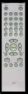 BBK  LT117 LCD [TV] пульт ДУ  для телевизора - магазин Remote - Фото 1