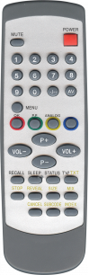 AKIRA ABL-30 / DAEWOO ABL-30 / YUMATU ABL-30 / ANALOG ABL-30 [TV] пульт ДУ  для телевизора - магазин Remote - Фото 1