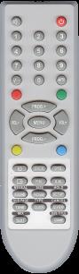 AKIRA/SUPRA/HYUNDAI/ERISSON BC-1201 [TV] пульт ДУ  для телевизора - магазин Remote - Фото 1