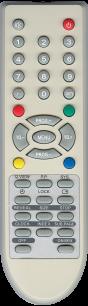 AKIRA/SUPRA/HYUNDAI/ERISSON BC-1202 [TV] пульт ДУ  для телевизора - магазин Remote - Фото 1