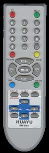 HUAYU NOBEL RM-840N TV универсальный [UNIVERSAL] оригинальный пульт ДУ универсальные - магазин Remote - Фото 1