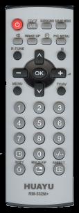 HUAYU PANASONIC RM-532M+ TV универсальный [UNIVERSAL] оригинальный пульт ДУ универсальные - магазин Remote - Фото 1