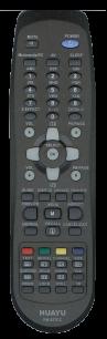 HUAYU DAEWOO RM-827DC LCD TV универсальный [UNIVERSAL] оригинальный пульт ДУ универсальные - магазин Remote - Фото 1