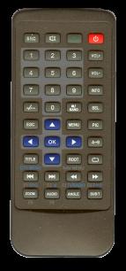 ORION AVM-97157BTN [AUTO] оригинальный пульт ДУ для автомагнитол автомобильных TV/DVD систем - магазин Remote - Фото 1