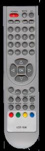 BRAVIS LCD 1536 / 1532 / 1936 [TV] пульт ДУ  для телевизора - магазин Remote - Фото 1
