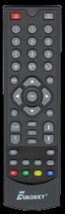 EUROSKY 4100 / LORTON 4100c [SAT] пульт ДУ для спутниковых и кабельных тюнеров - магазин Remote - Фото 1