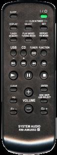 SONY RM-AMU053 / SONY RM-SC3 [AUX] пульт ДУ для музыкальных центров и аудио техники - магазин Remote - Фото 1