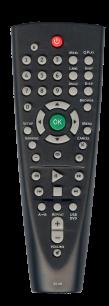 BBK RC 116 [DVD] пульт ДУ для DVD, Blu-ray, DVD систем и домашних кинотеатров - магазин Remote - Фото 1