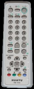 HUAYU SONY RM-191A TV универсальный [UNIVERSAL] оригинальный пульт ДУ универсальные - магазин Remote - Фото 1