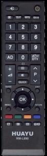 HUAYU TOSHIBA RM-L890 TV универсальный [UNIVERSAL] оригинальный пульт ДУ универсальные - магазин Remote - Фото 1