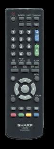 SHARP GA574WJSA [PLASMA, LCD TV] оригинальный пульт ДУ  для телевизора - магазин Remote - Фото 1